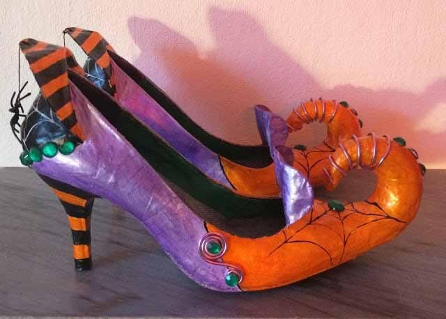 фото башмаки из папье-маше для костюмированной вечеринки