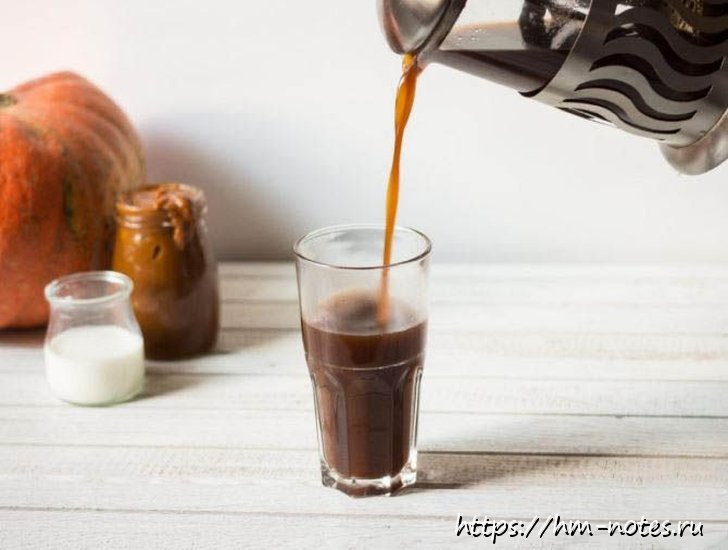 фото тыквенный кофе