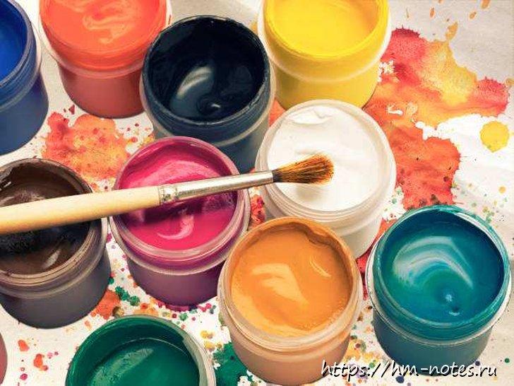 фото делаем сами различные краски и мелки