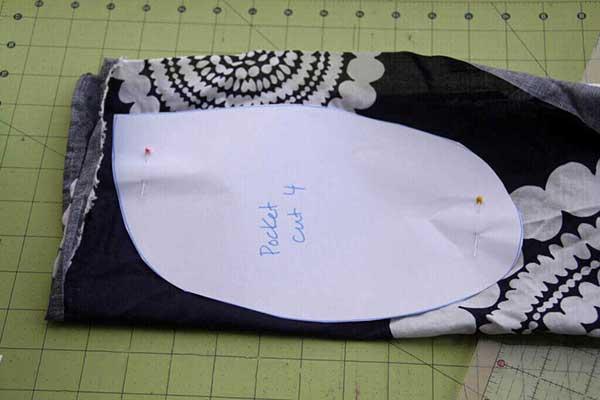 выкройка простой летней юбки