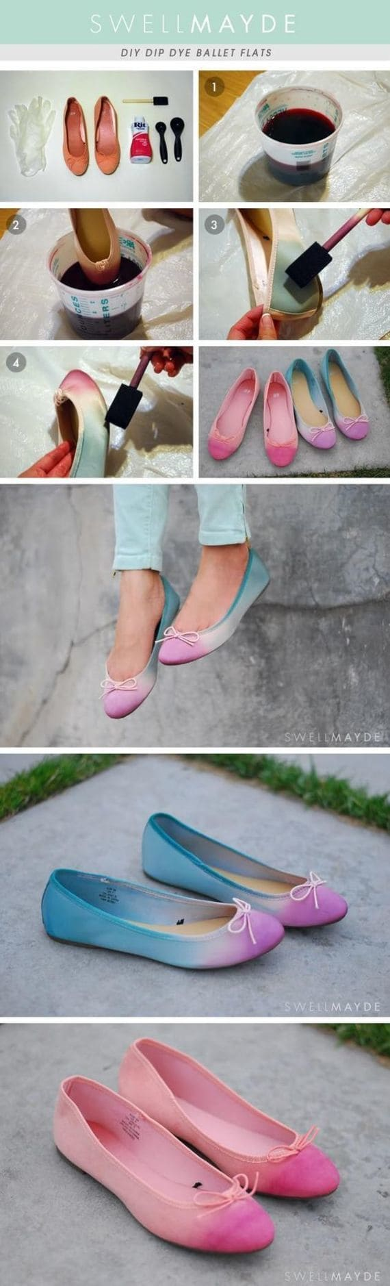 Переделки обуви своими руками