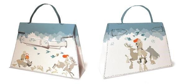 Выкройка сумки для кукол или детских игр 6