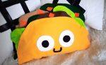 Декоративная подушка Тако — мастер-класс