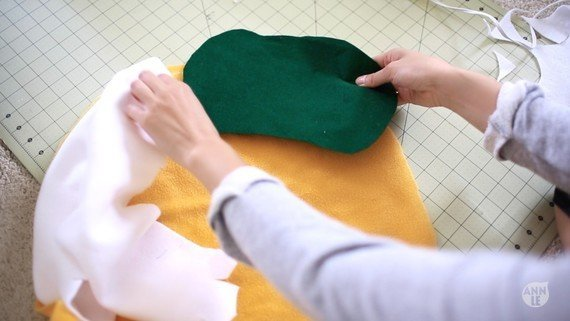 Декоративная подушка Тако - мастер-класс