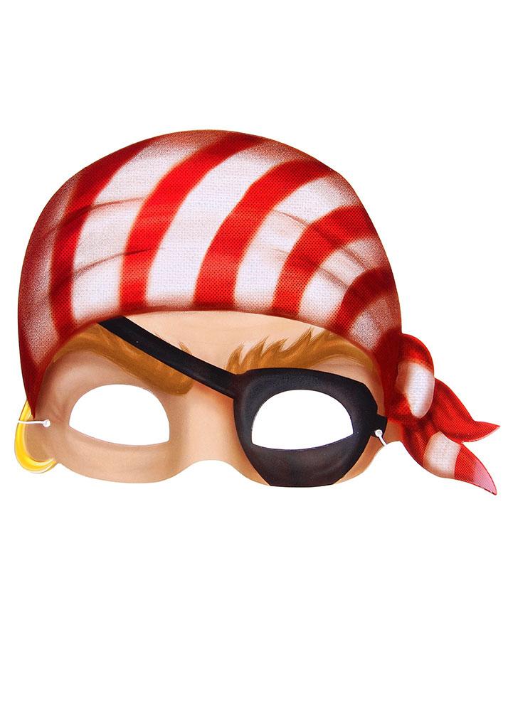 карнавальная маска пират