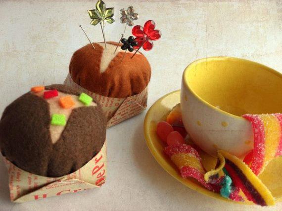 Торты и пирожное из фетра