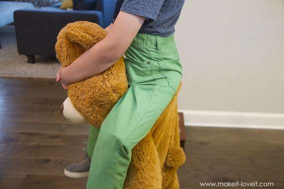 Оригинальный костюм клоуна с медведем своими руками