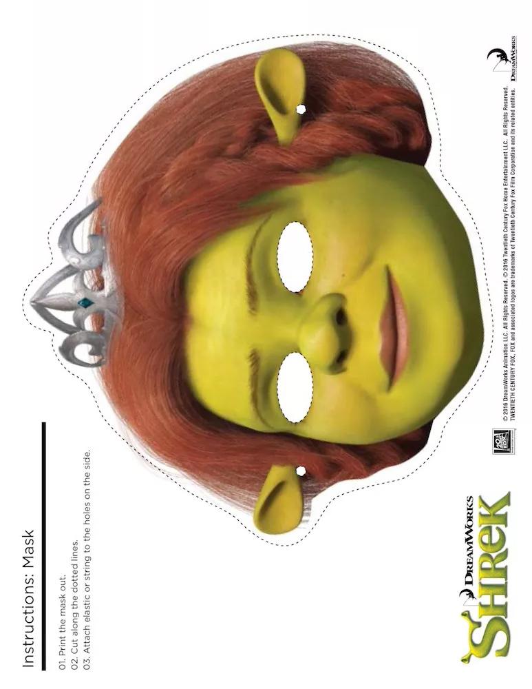 карнавальная маска Фиона