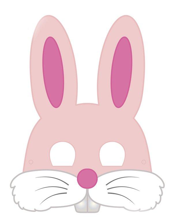 детская маска заяц