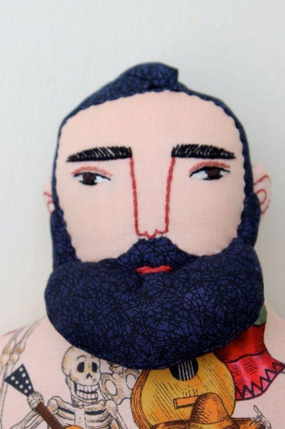 кукла с бородой своими руками из текстиля