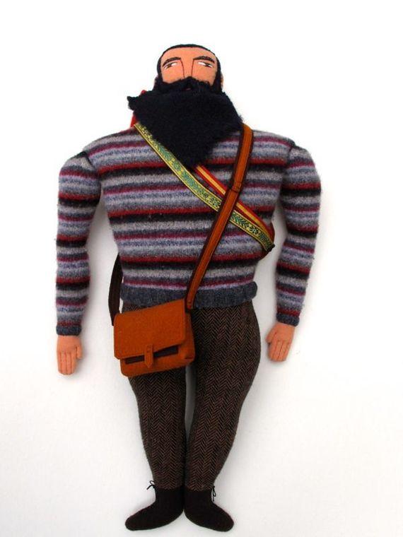 кукла с бородой своими руками из ткани