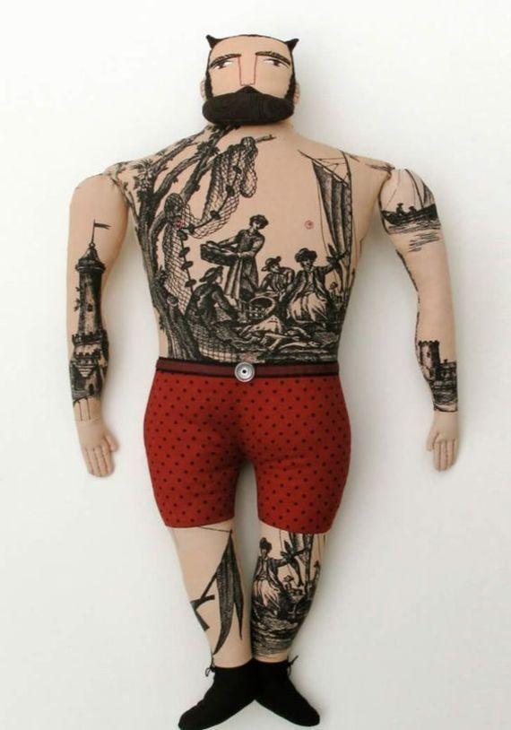 кукла циркач своими руками из ткани