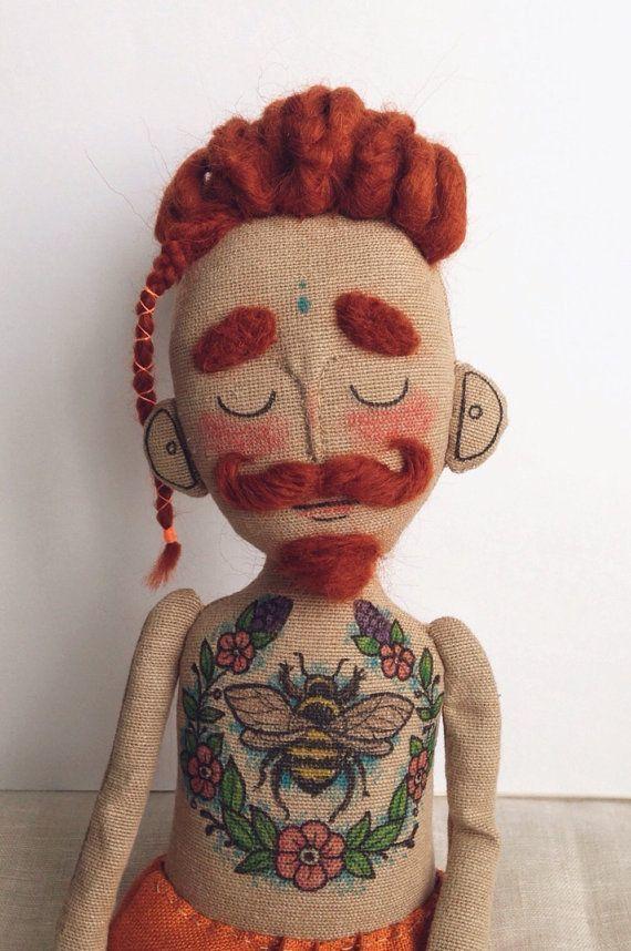 кукла хипстер своими руками
