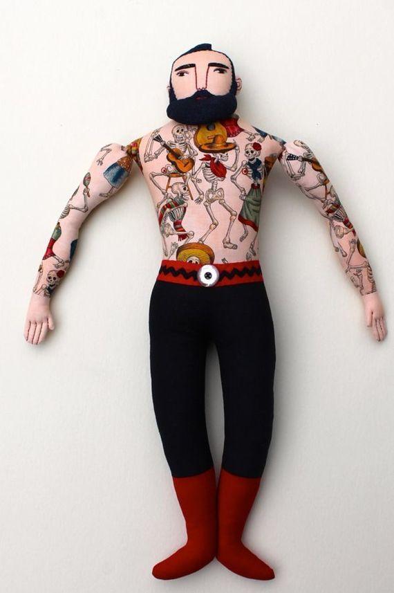 кукла мужчина своими руками