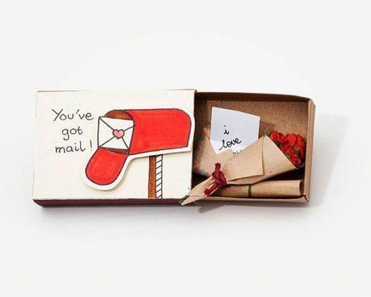 Маленькие валентинки и шаблоны конвертов на День влюбленных