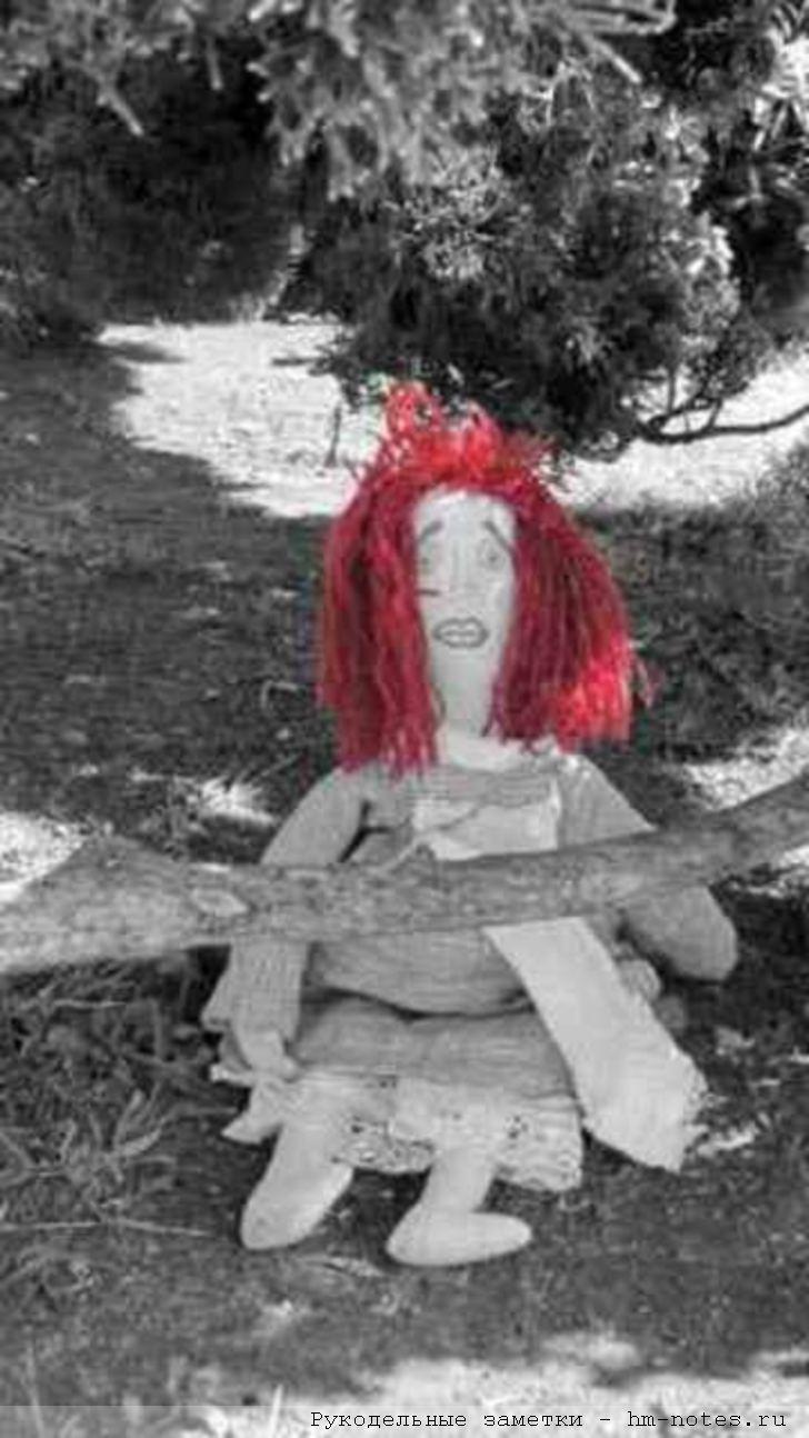 текстильная кукла для выживания в чрезвычайной ситуации