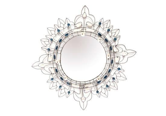 рамка для зеркала из проволоки