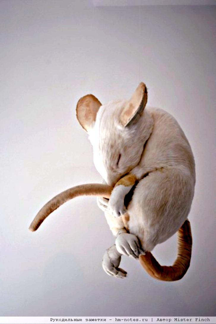 текстильная мышь