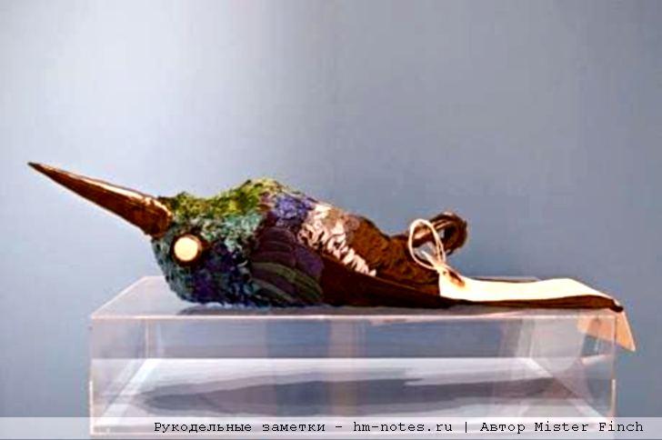 текстильная колибри