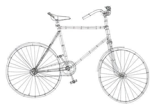 велосипед из проволоки