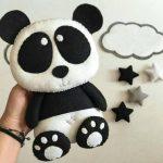 Учимся шить панду своими руками
