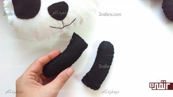 шить панду своими руками
