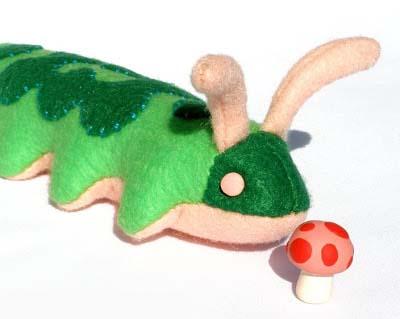 выкройка гусеницы