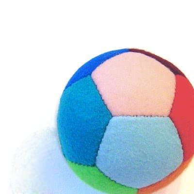 выкройка мяча из фетра