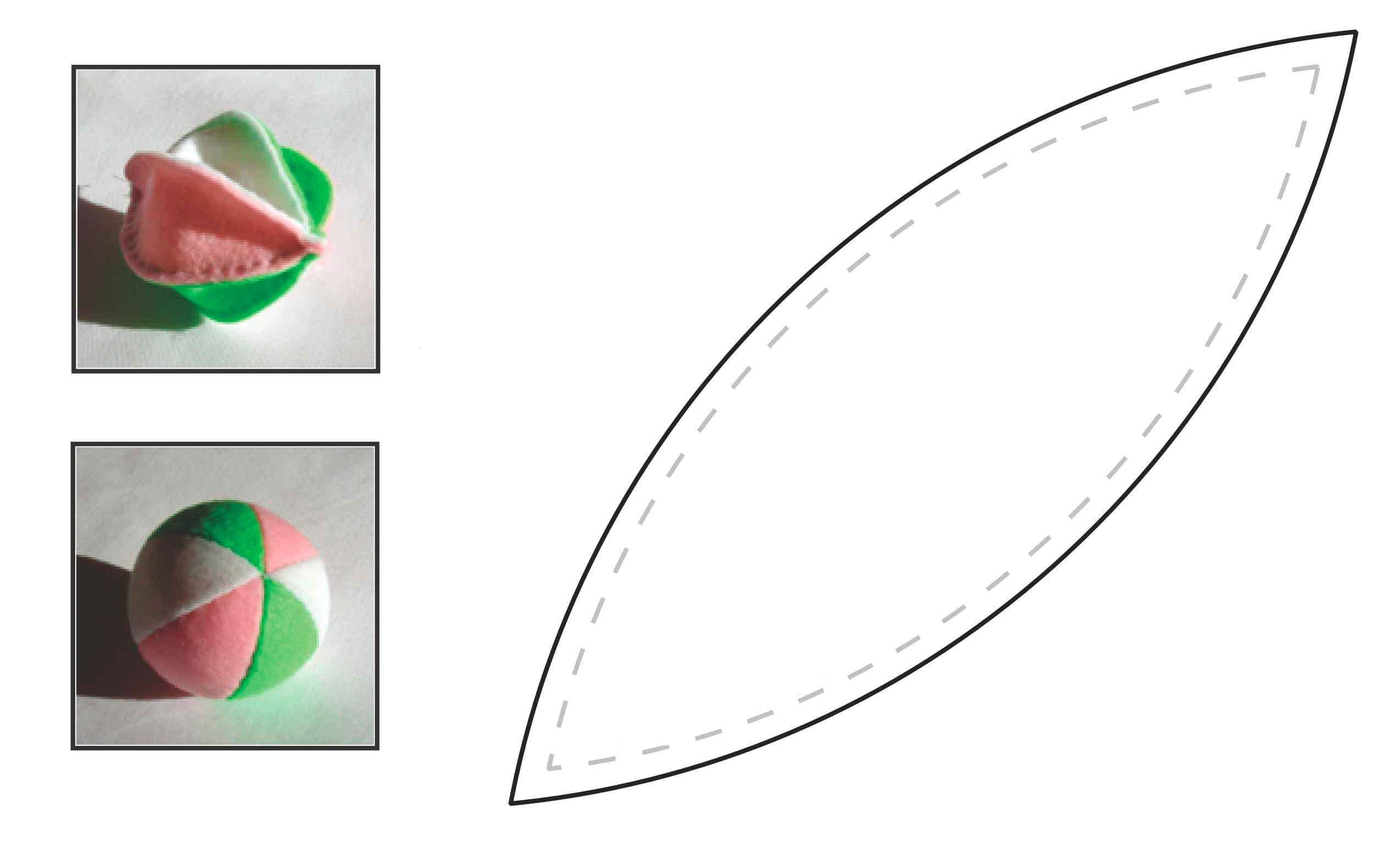 мяч из фетра