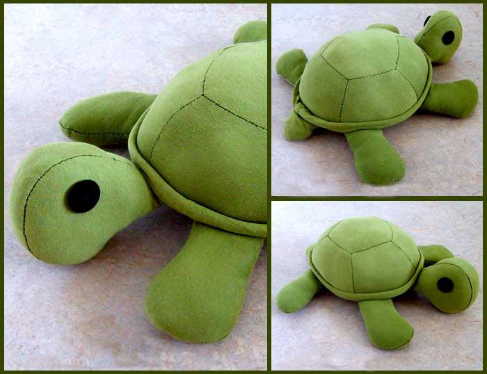 выкройка черепахи