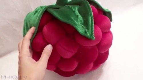 Декоративная подушка Малина