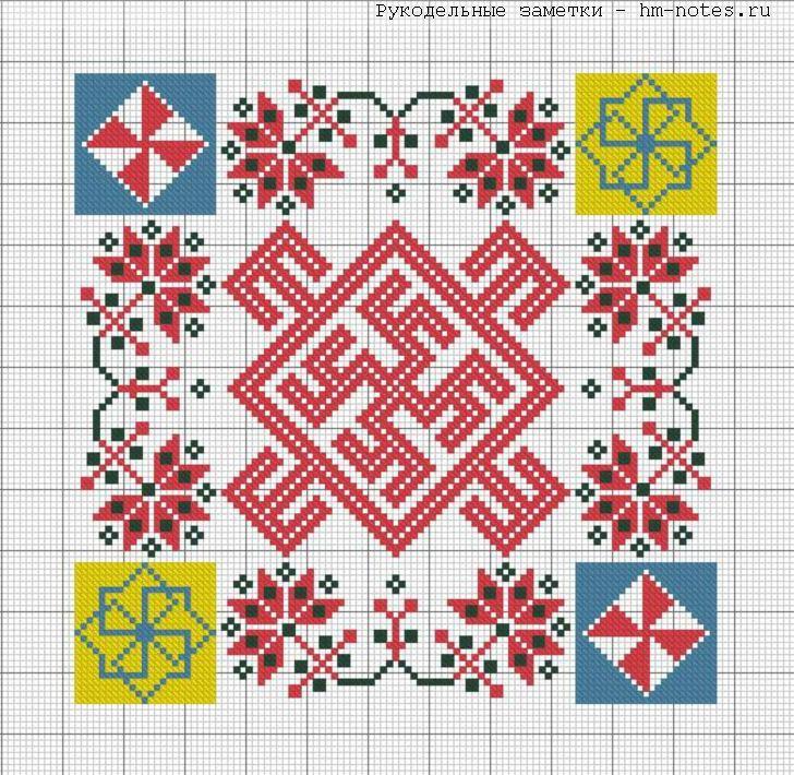 Схемы вышивки для амулета
