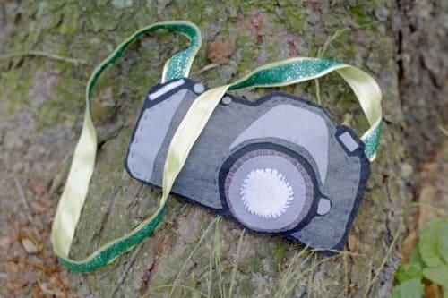 как сделать игрушечный фотоаппарат