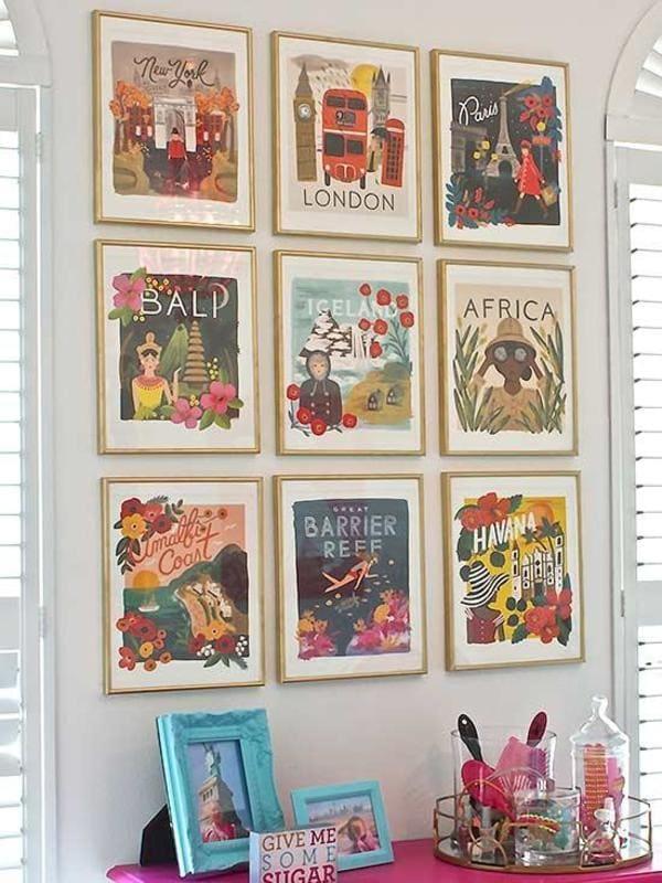 Картинная галерея из календарей