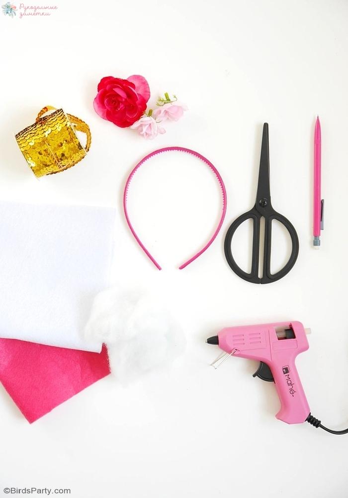 Ободок для волос «Единорог»