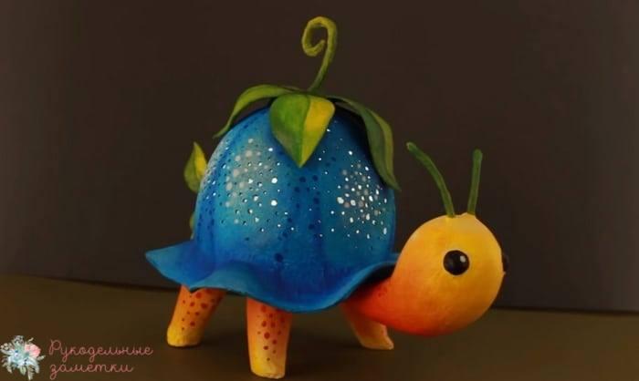 Ночной светильник Черепаха своими руками