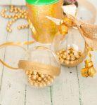 Быстро и красиво делаем ёлочные шары