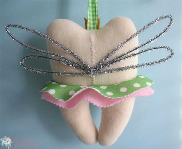 Зубы из фетра - выкройка