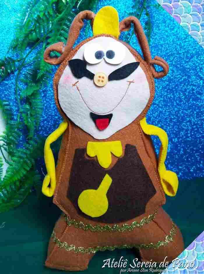 Выкройка куклы каминные часы Когсворт