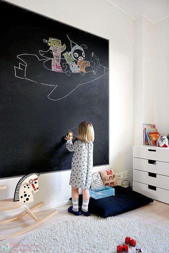 Какие плюсы маркерного покрытия стен?
