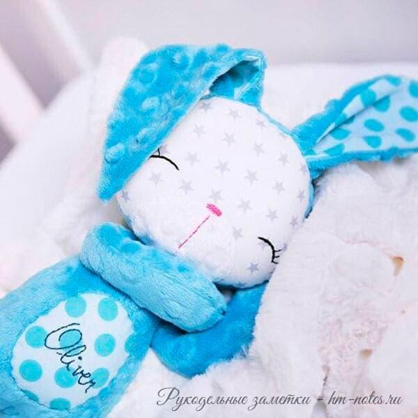 выкройка спящего зайца