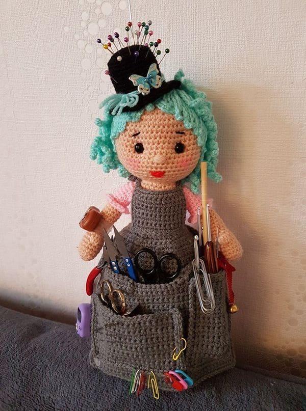 Кукла помощница крючком - мастер-класс