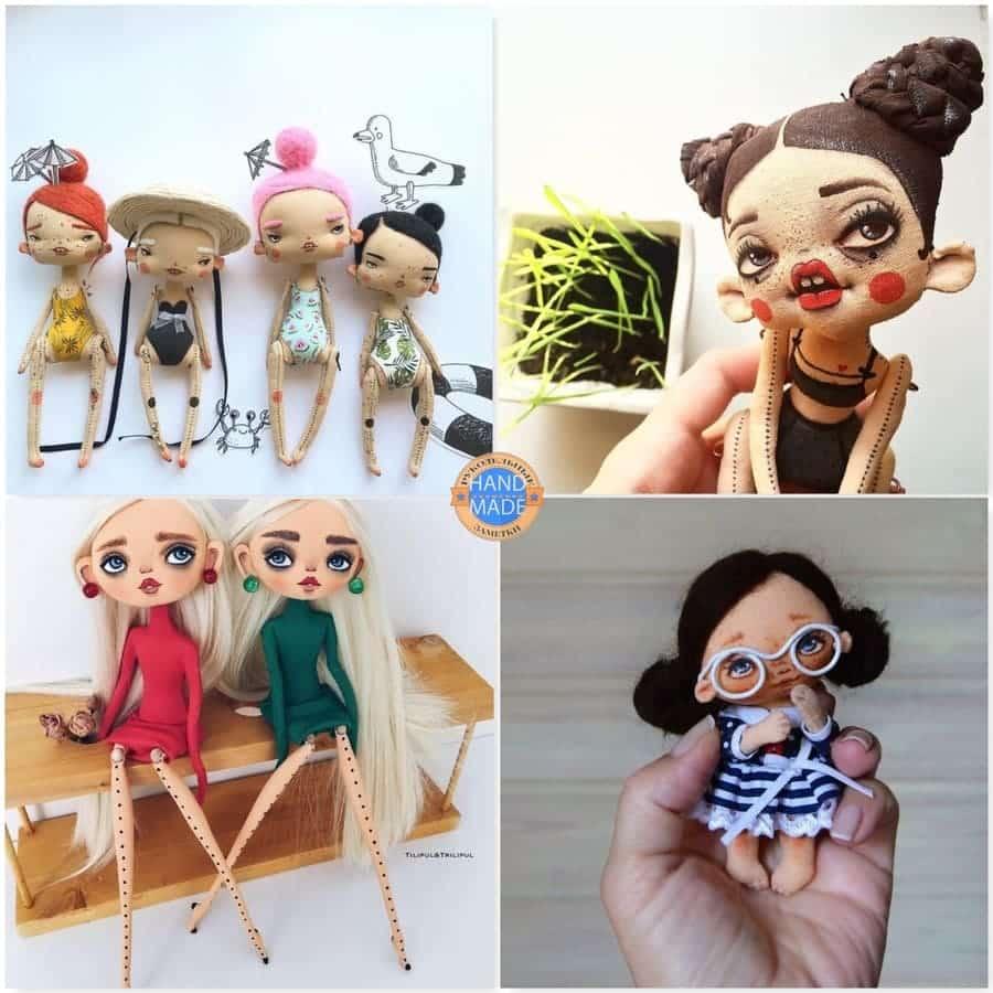 Кукла или мягкая игрушка