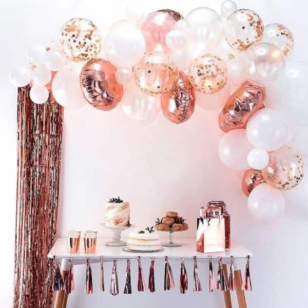 фольгированные шары для юбилея