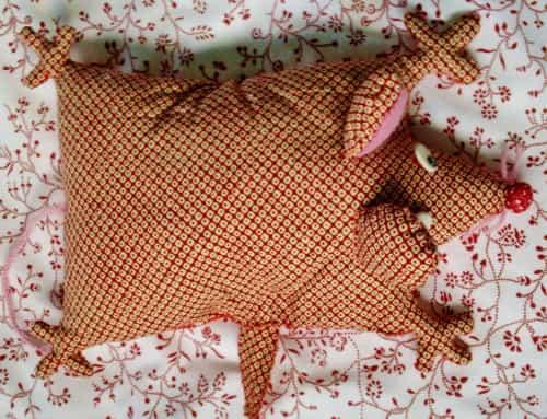 подушка крыса