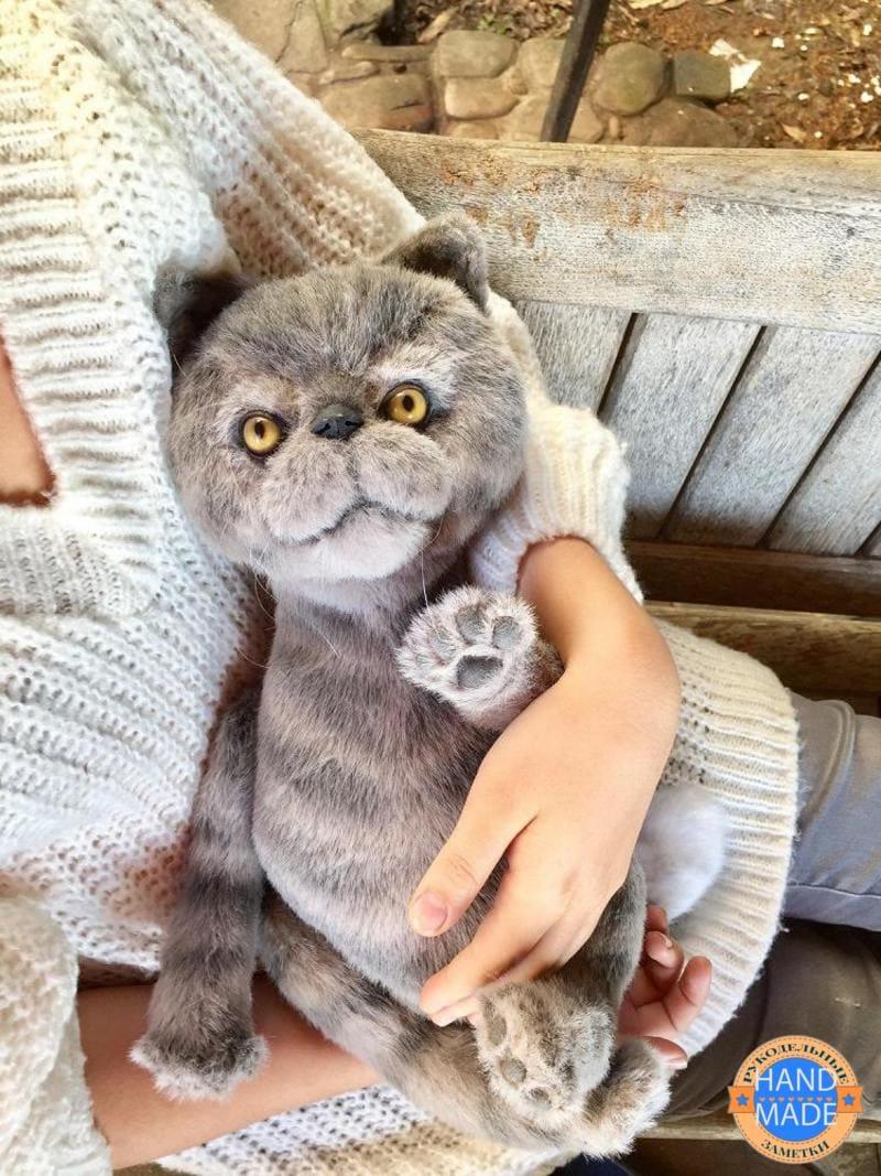 кот из меха