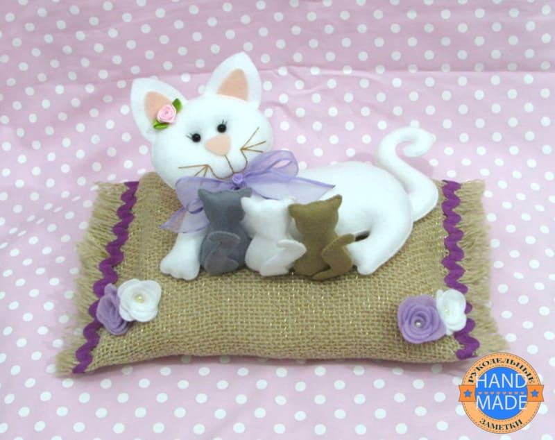 британская кошка с котятами выкройка