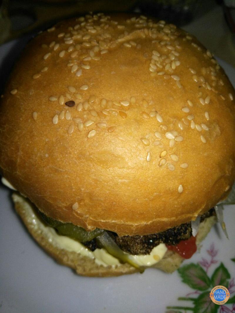 рецепт булочек для гамбургеров