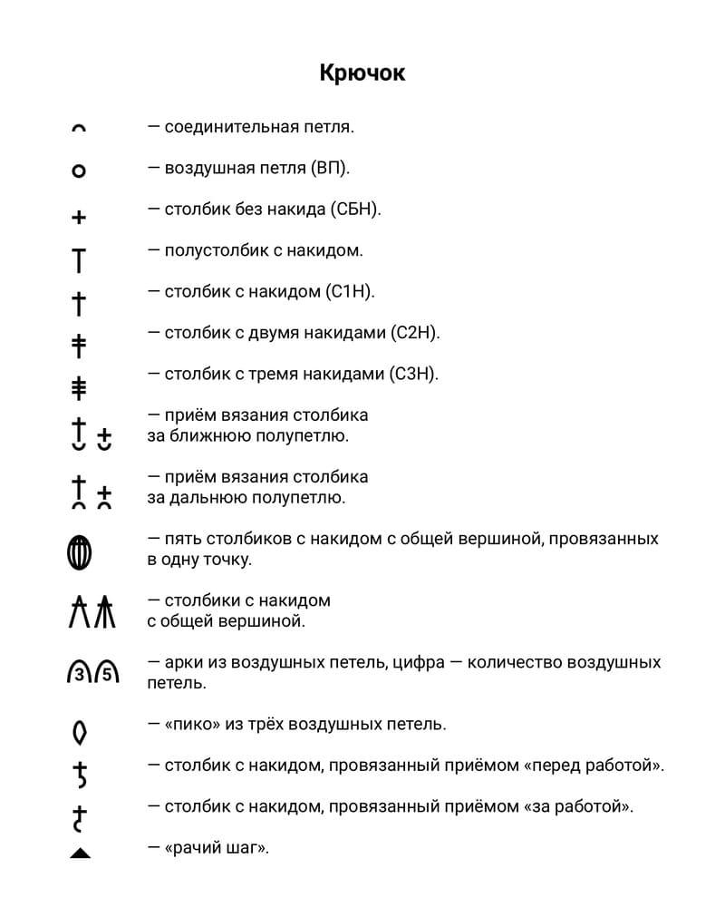 Схема и вязание крючком Венеры Виллендорфской