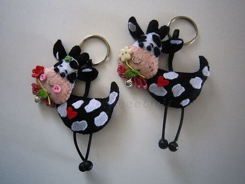 Коровы магнитики